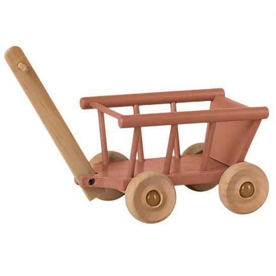 wózek wagonik dusty rose