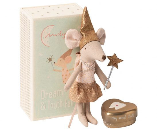 Myszka - Tooth fairy mouse in matchbox, Big sister
