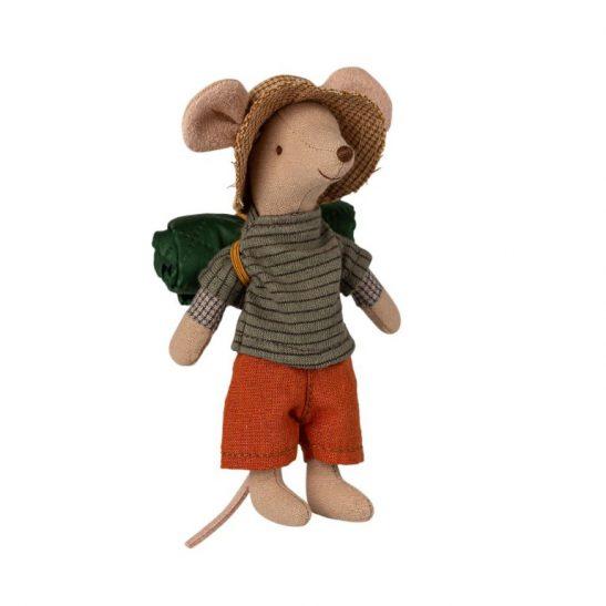 Myszka Starszy Brat Turysta z kapeluszem