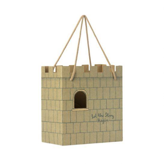 Papierowa torba prezentowa - Zamek