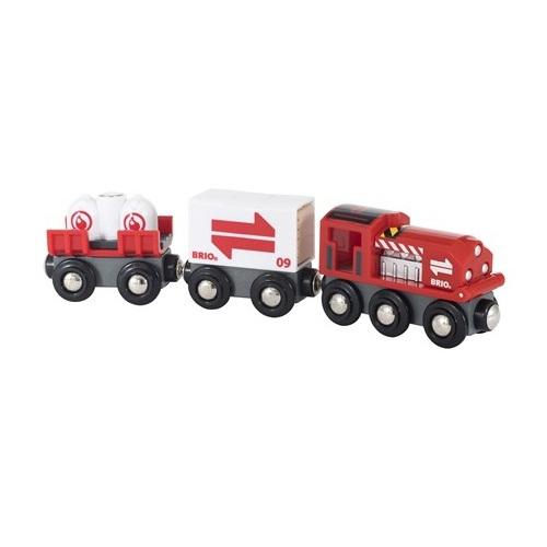 Pociąg Towarowy z Wagonami