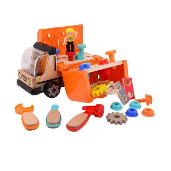 Ciężarówka z warsztatem narzędziowym
