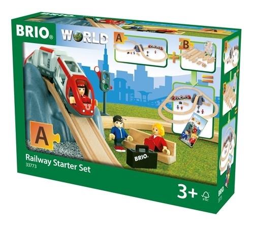 BRIO World Kolejka Zestaw Startowy 26el. 33773