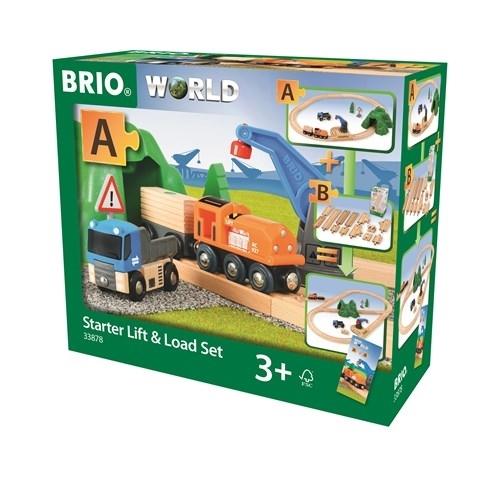 BRIO World Kolejka Zestaw Startowy 33878