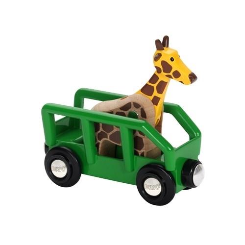 BRIO World Wagon z Żyrafą Safari 33724