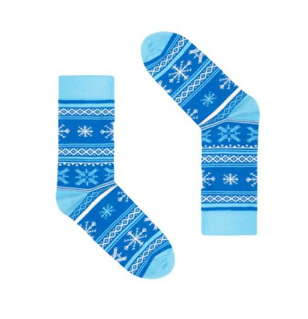 Skarpetki dorosłe Finlandia Płatki Śniegu