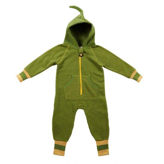 kombinezon polarowy green/yellow