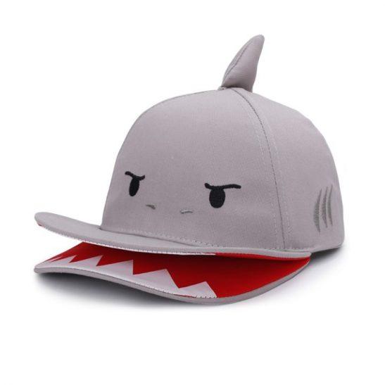 czapka z daszkiem 3D Rekin