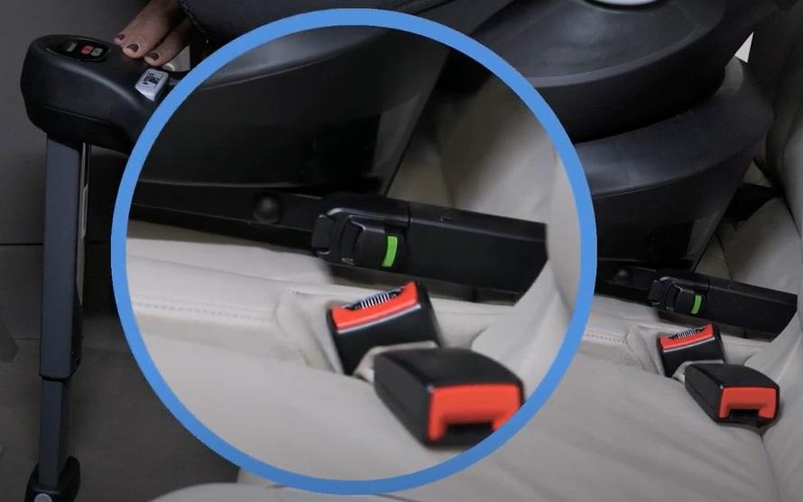 Fotelik samochodowy i-Spin Safe