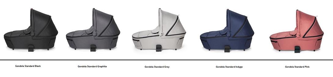 kolorystyka gondola standard