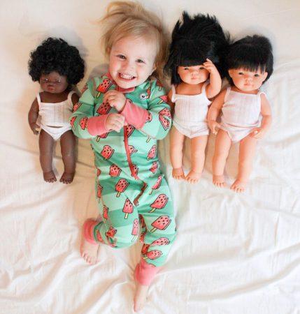 Lalki Miniland Doll