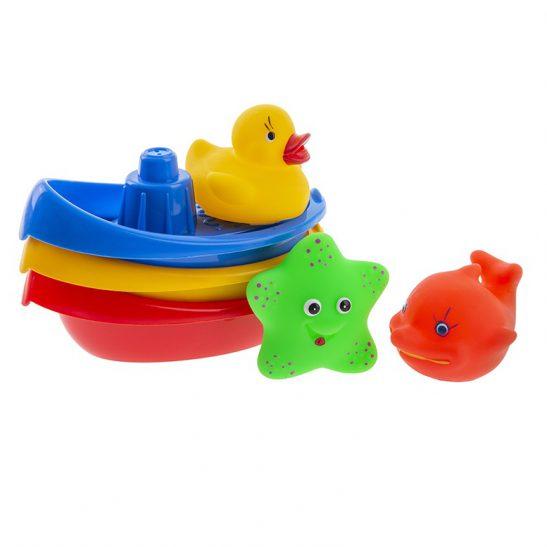 Łódeczki ze zwierzątkami