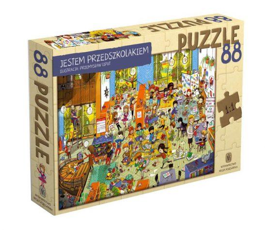 Puzzle Jestem przedszkolakiem
