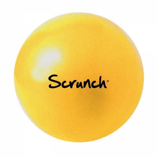 piłka scrunch - Pastelowy Żółty