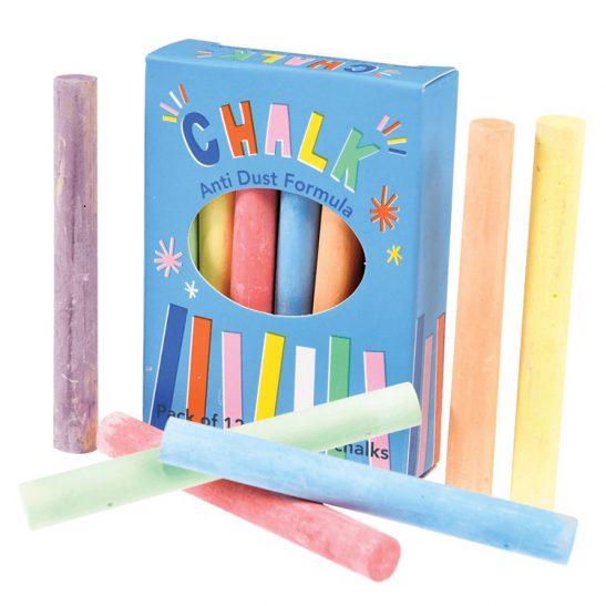 Kolorowe kredy dla dzieci