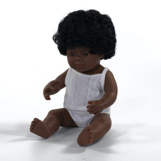 Lalka dziewczynka Afroamerykanka 38 cm