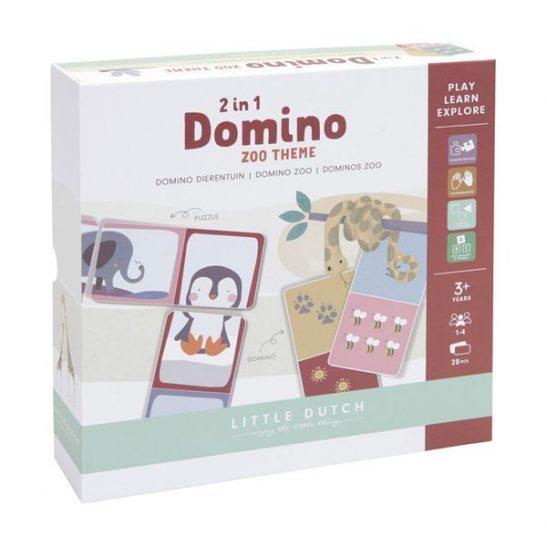 Gra Domino Zoo