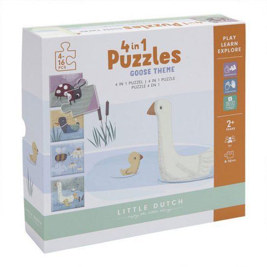 Puzzle Little Goose