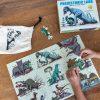 puzzle Dinozaury świecące