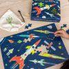 puzzle Kosmos świecące