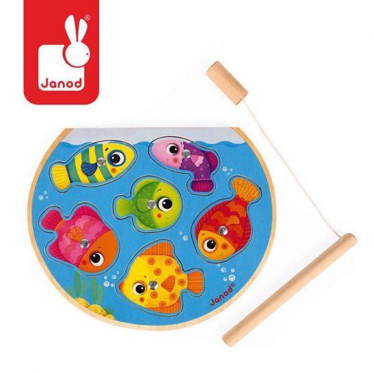 Puzzle z magnesami Szybkie rybki