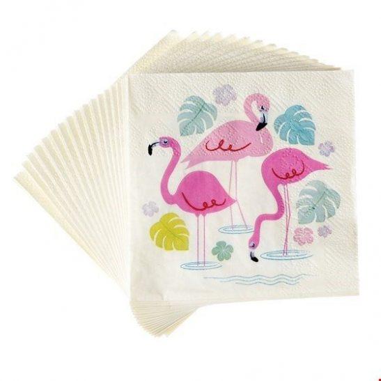 Serwetki papierowe Flamingo Bay
