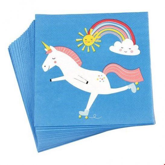 Serwetki papierowe Magiczny Jednorożec
