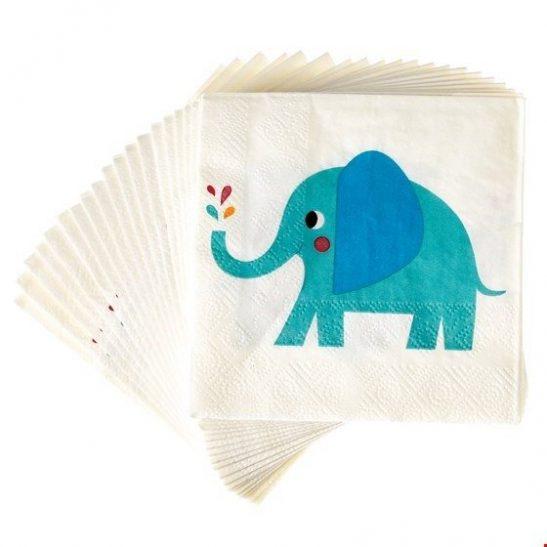 Serwetki papierowe Słoń Elvis