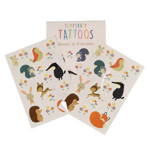 Tatuaże zmywalne dla dzieci Przyjaciele