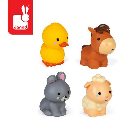 zwierzątka z farmy do kąpieli