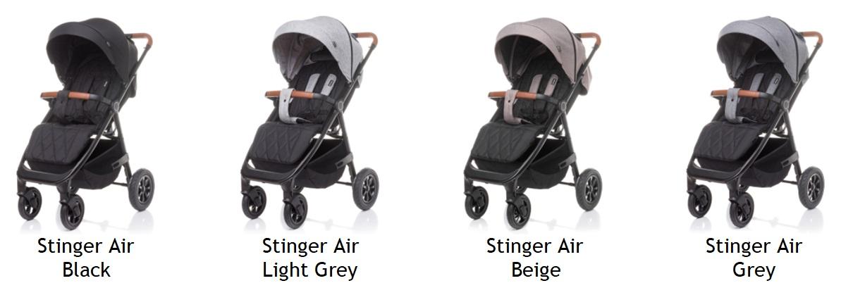 wózek spacerowy Stinger Air